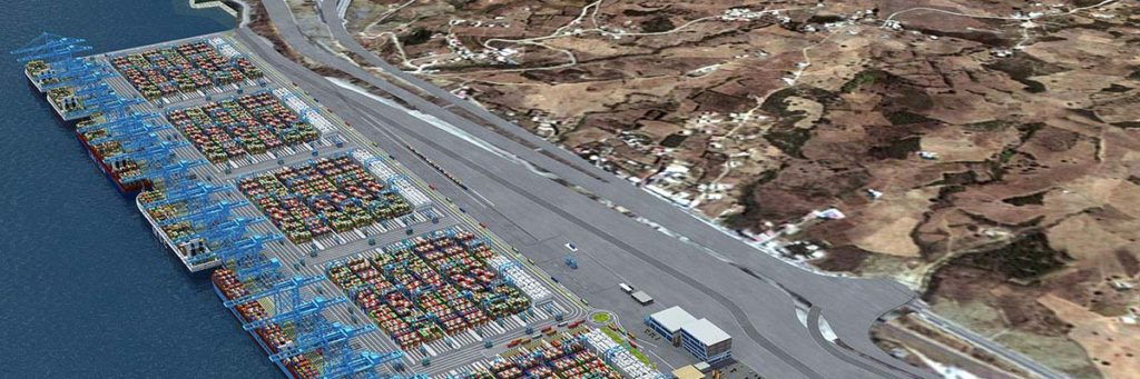 Tangier-Med Port Container Terminal
